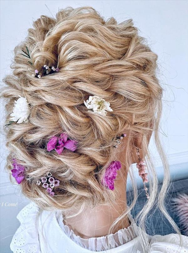 Bridesmaid hairstyles design ideas for wedding party!