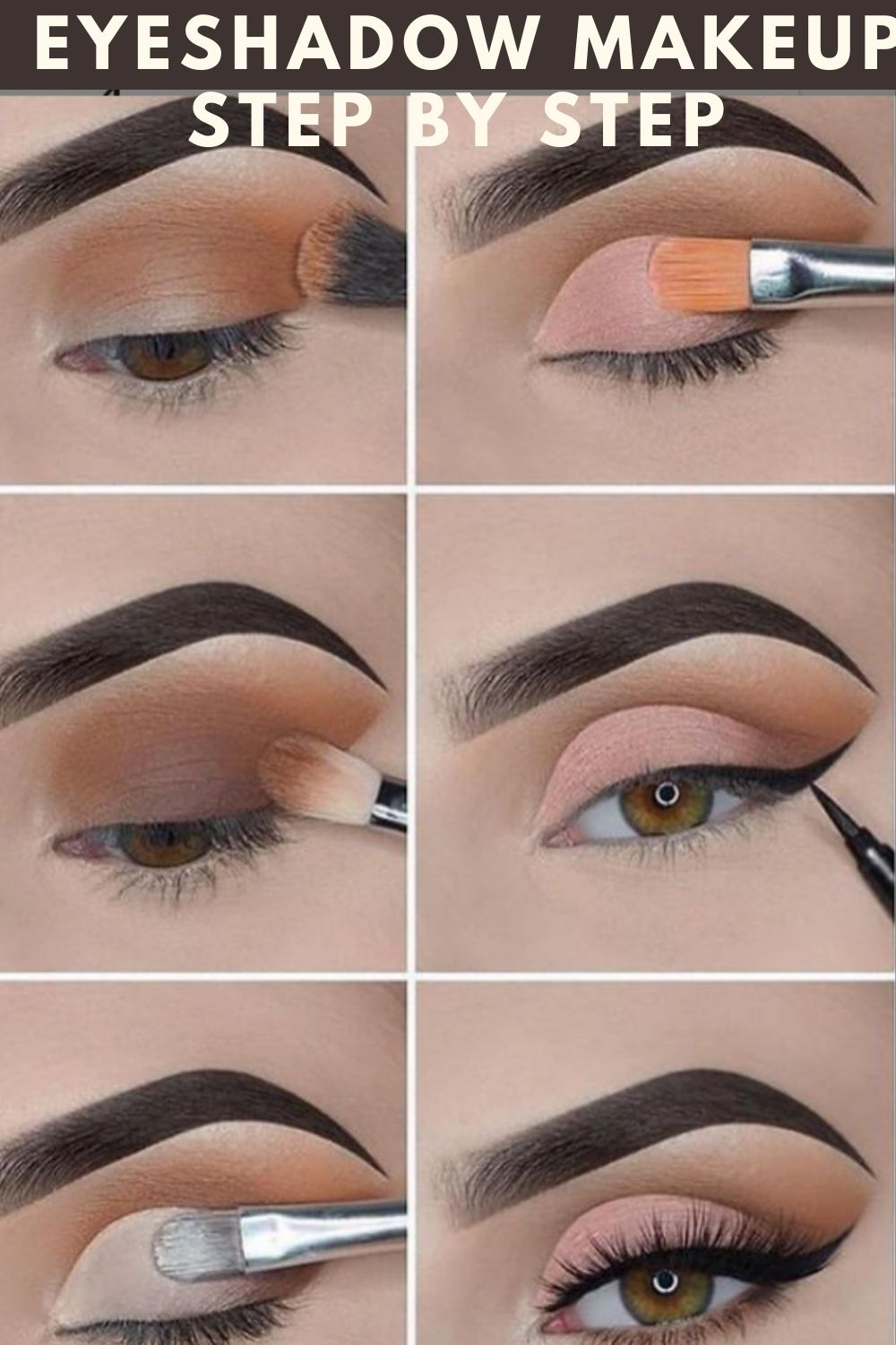 Stunning eyeshadow makeup tutorial for beginners step by step!