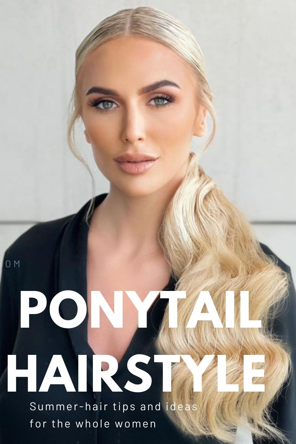 ponytail hairstyle design