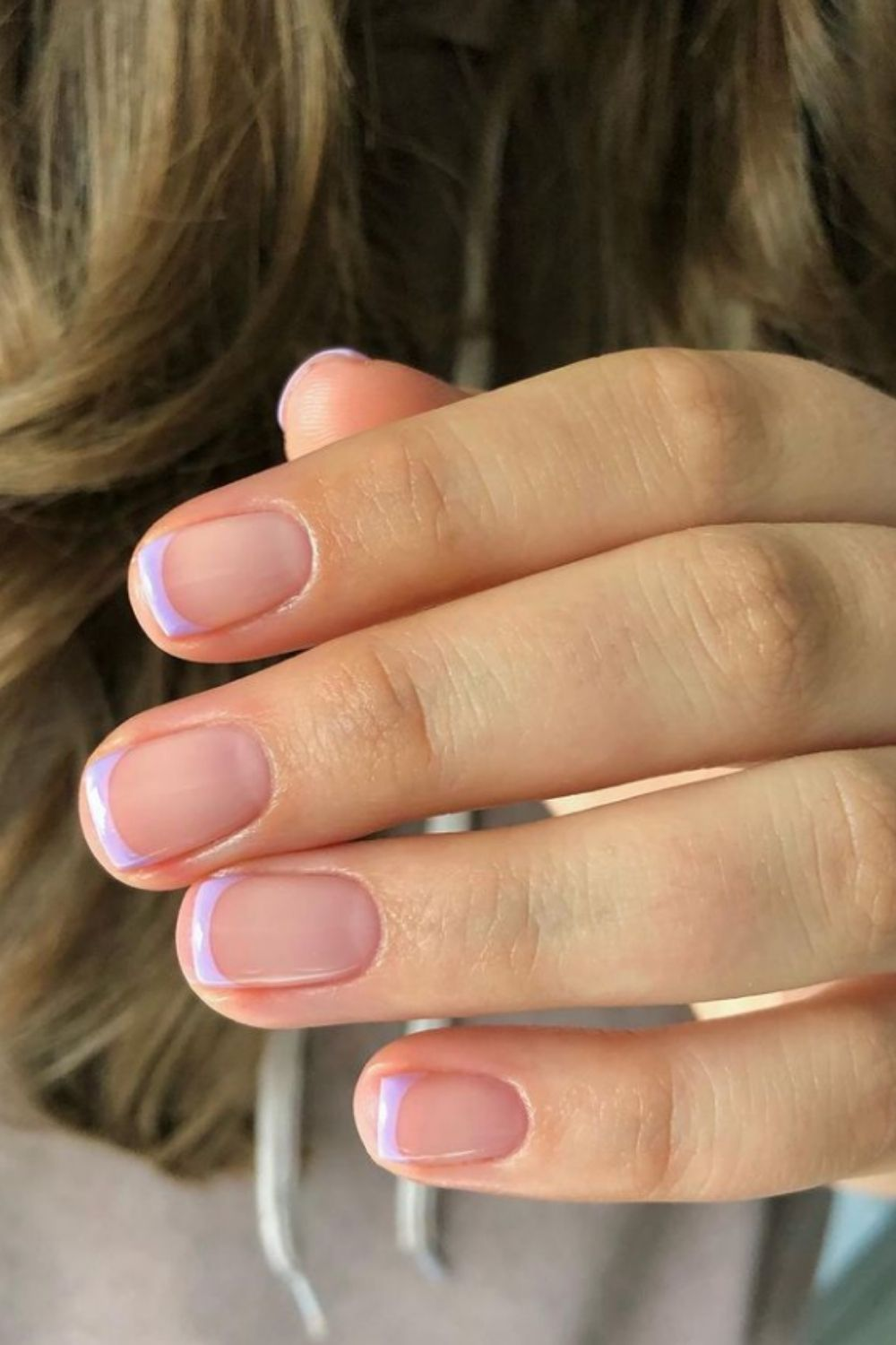 Short Square French Tip Nails: 40 Best French Nails  To Inspire You!