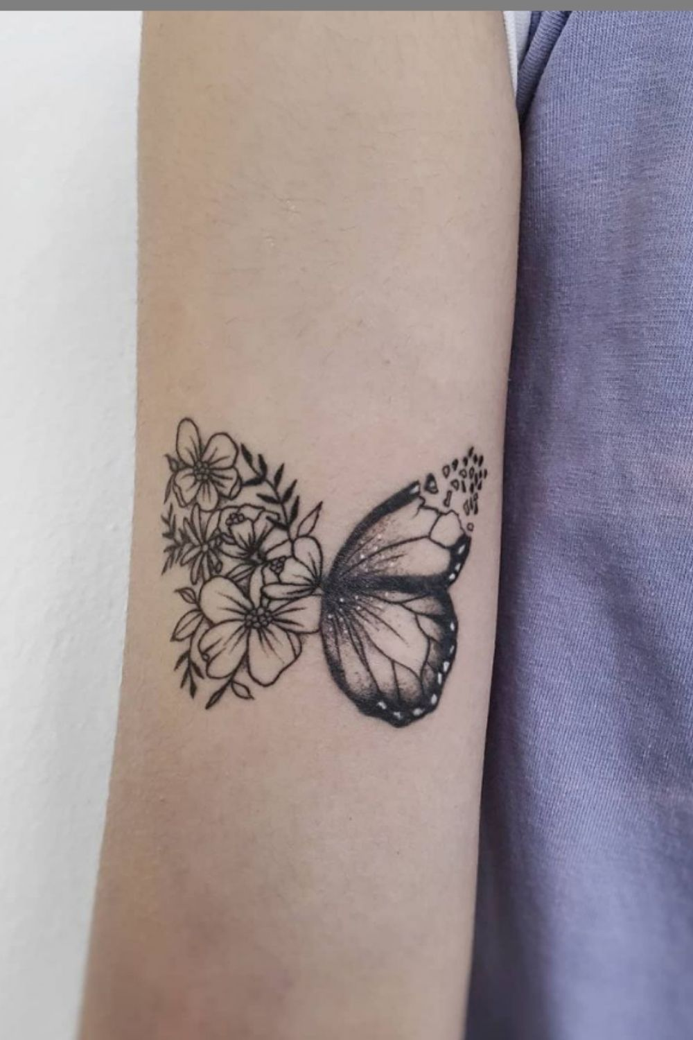 Butterfly Tattoo: 40 Beautiful  Tattoo Ideas For Grils To Try!