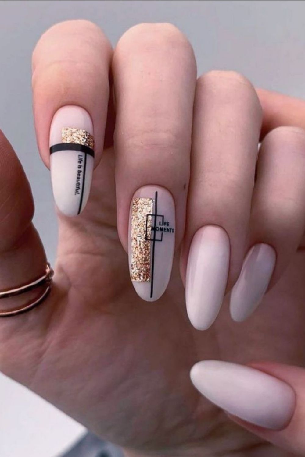Almond Acrylic Nails: 40 Awesome Summer Nail Designs To Inspire You!