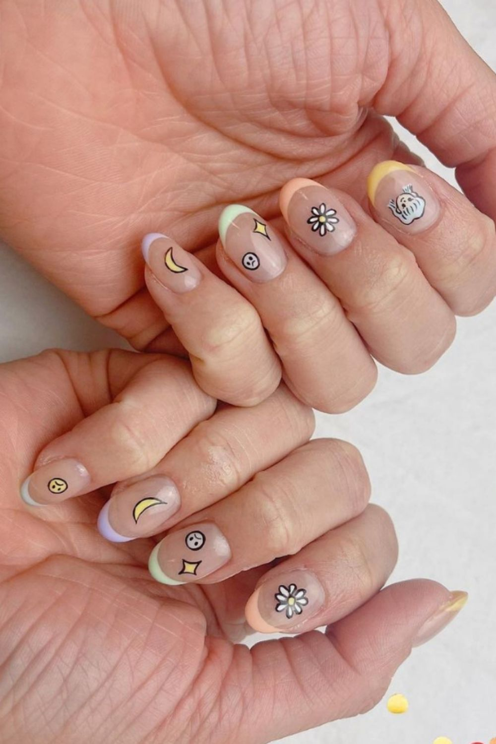 35 Amazing Colored French Tip Nails For Summer 2021!