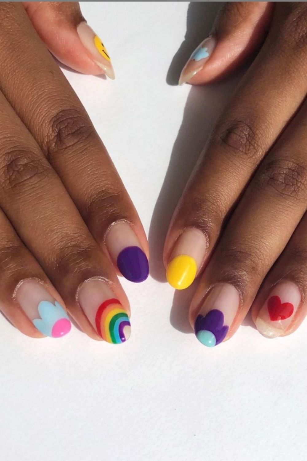 Summer Rainbow Nail Art You'll Love To Try 2021!