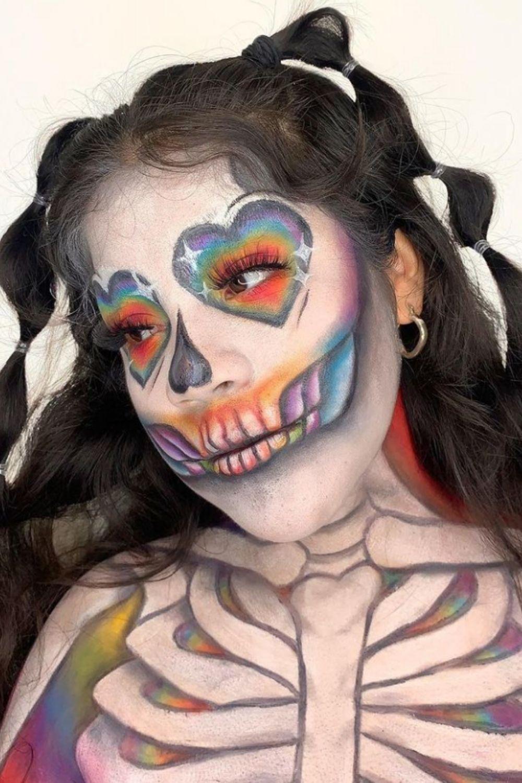 Skeleton Makeup Ideas | skull make up ideas for Halloween