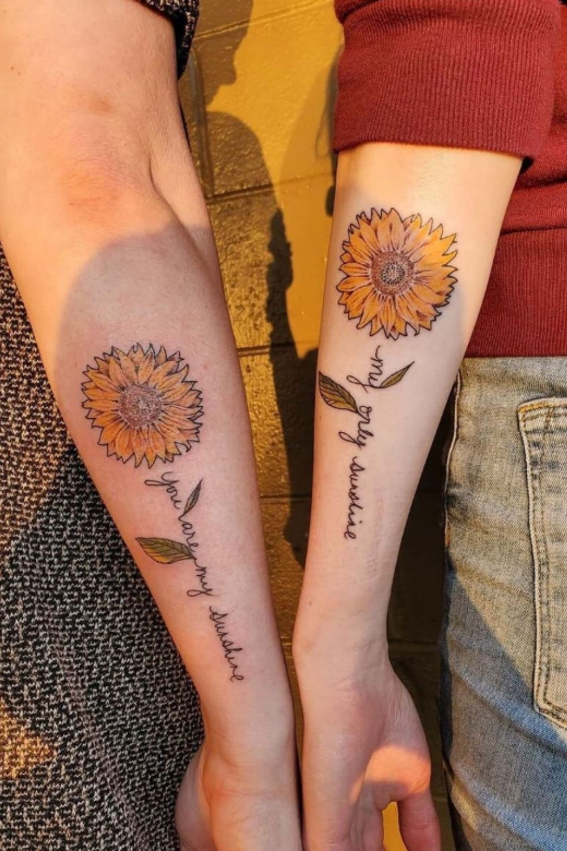 Best friend tattoos   Matching Friendship Tattoo Ideas for Your Bestie