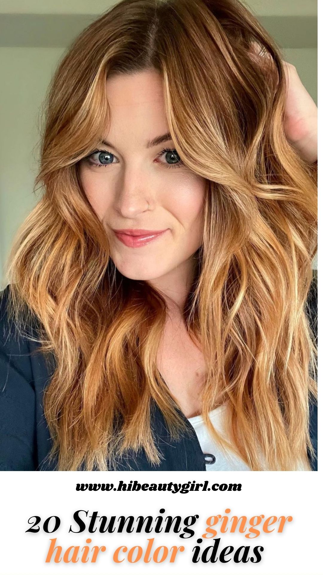 Fancy ginger hair color and giner hair dye ideas 2021