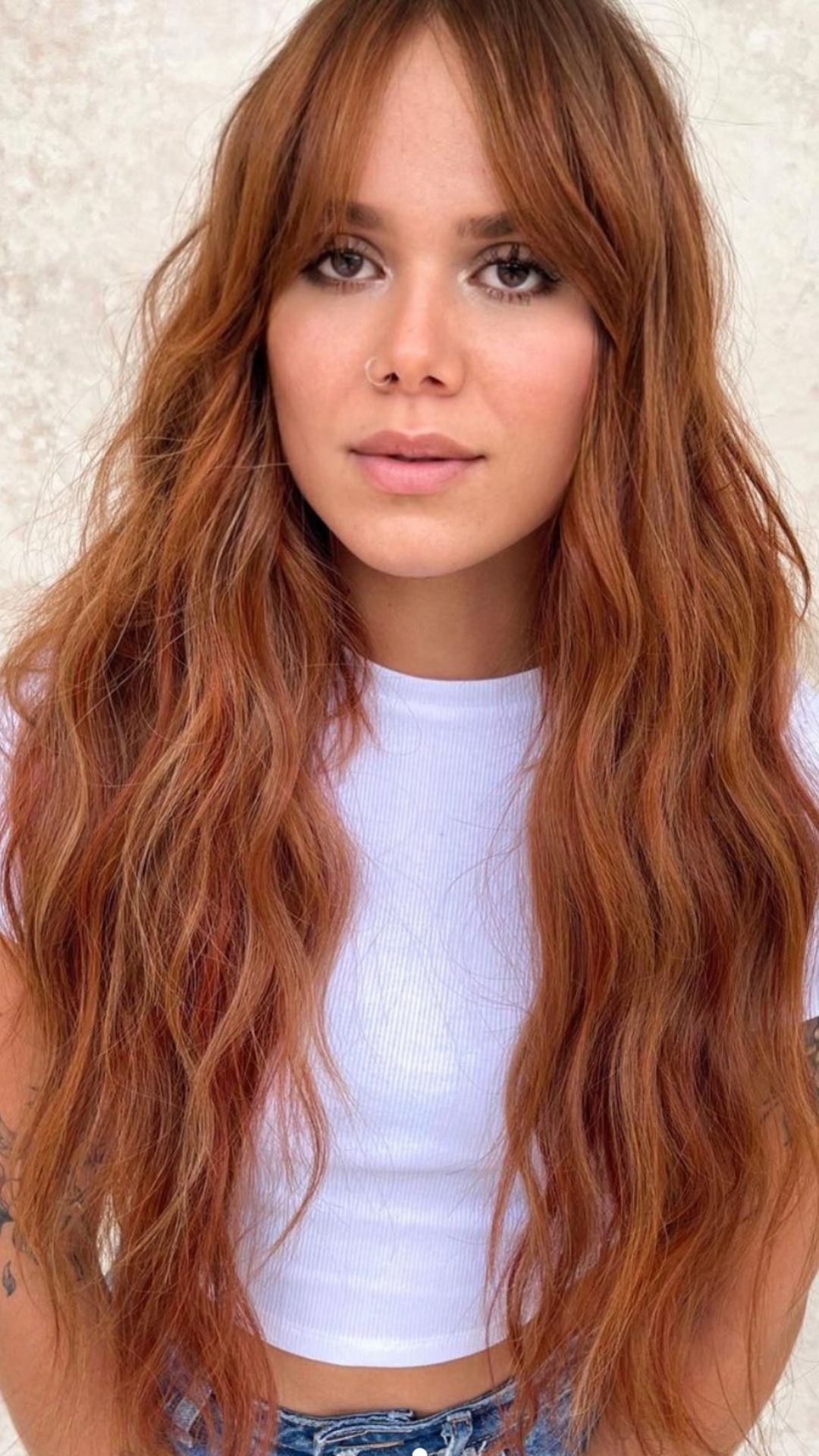 Fancy ginger orange hair color and giner hair dye ideas 2021