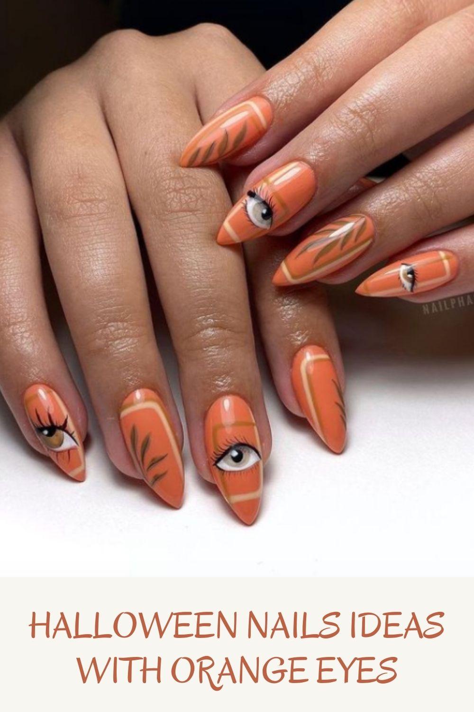 Unique Halloween Nail Art