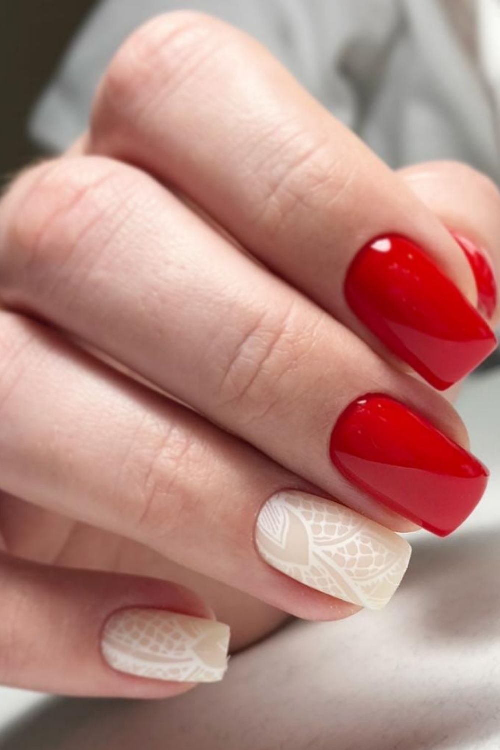 Red Acrylic Nails: 30 Creative Nail Designs to Inspire You