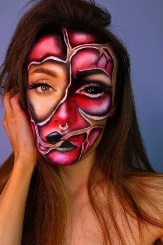 Creepy Halloween Makeup Looks