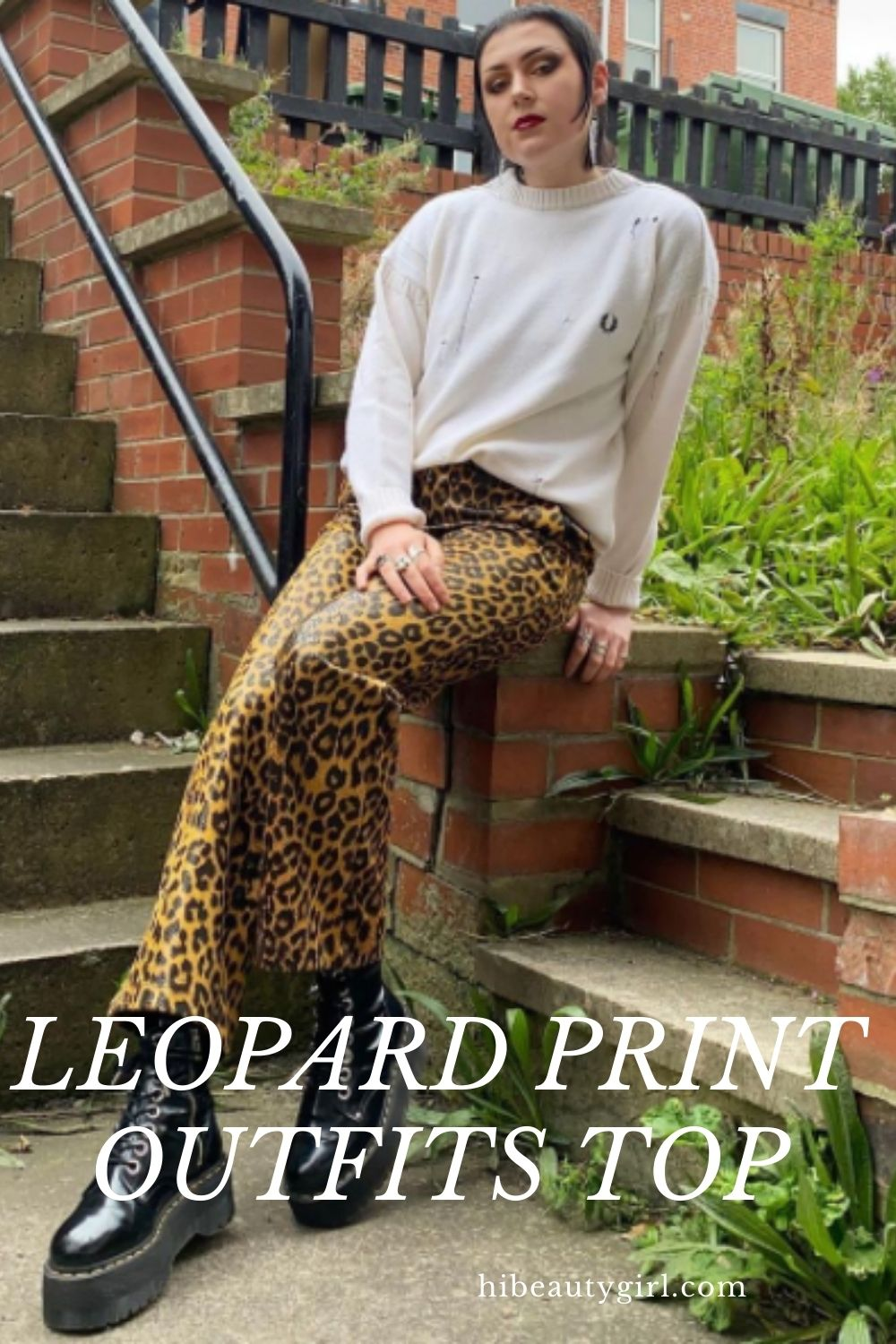 Simple Leopard Print Outfits