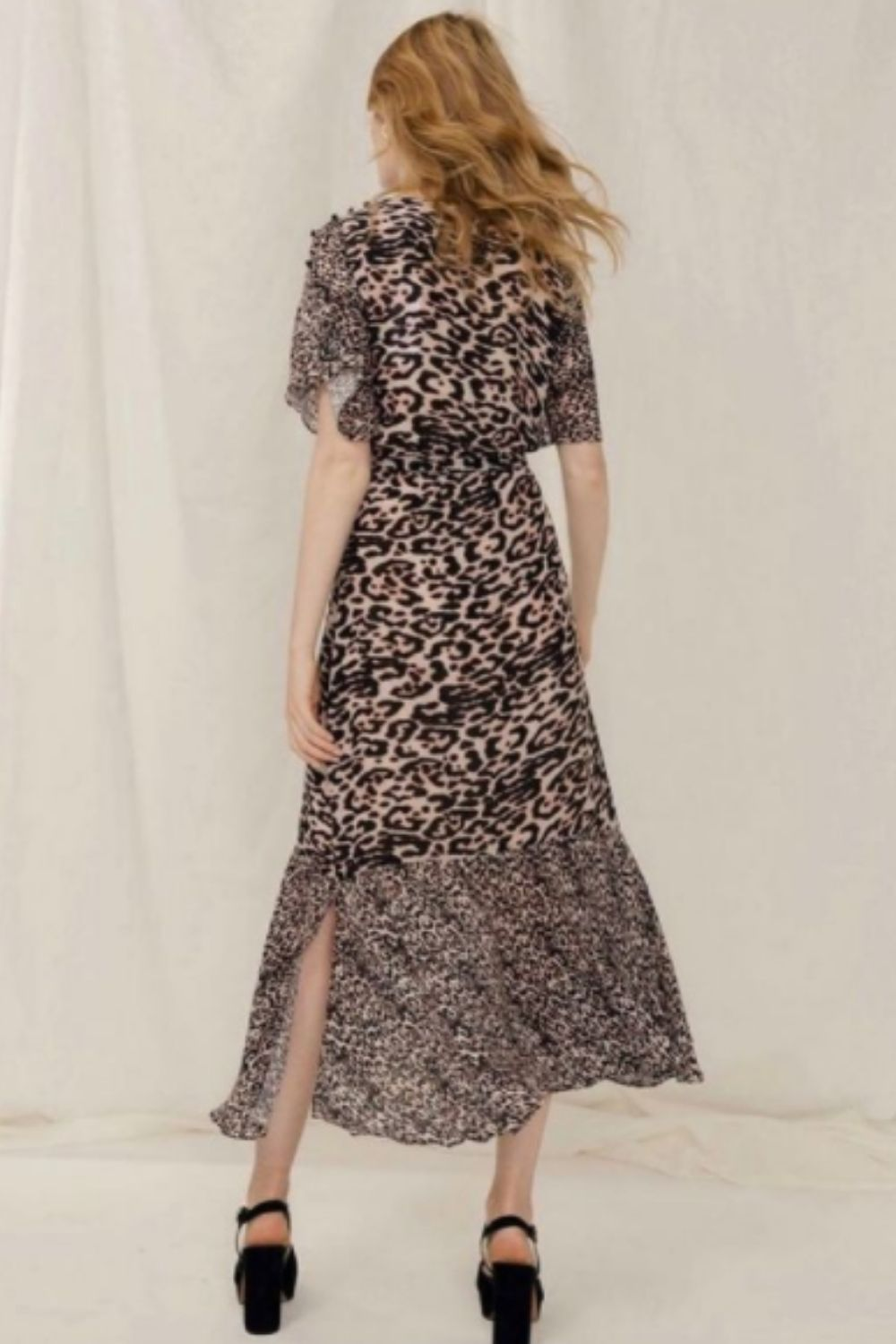 Dresses and Suits with Leopard  Outfit Design