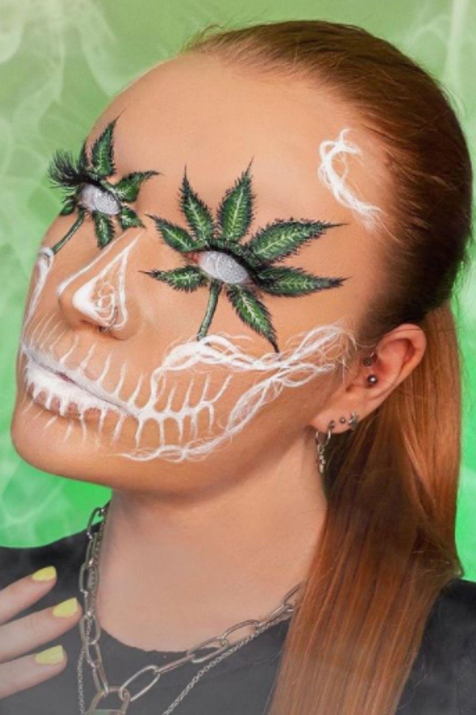 Special Halloween Makeup Look Design