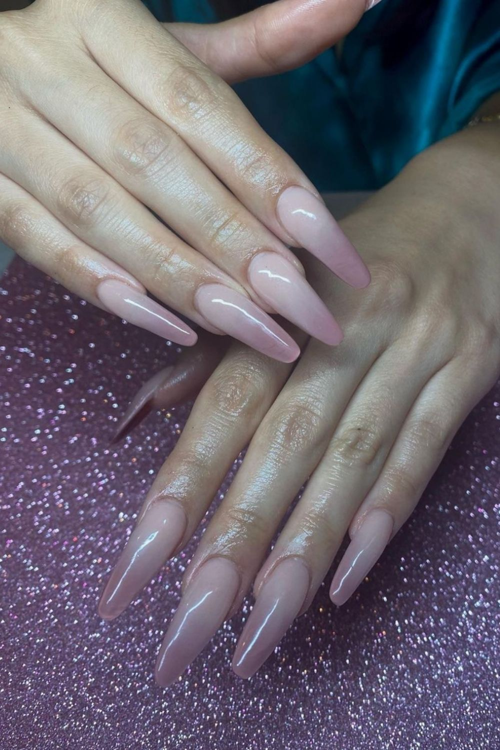 64 Best Pink coffin nails in different nail length for any occasion