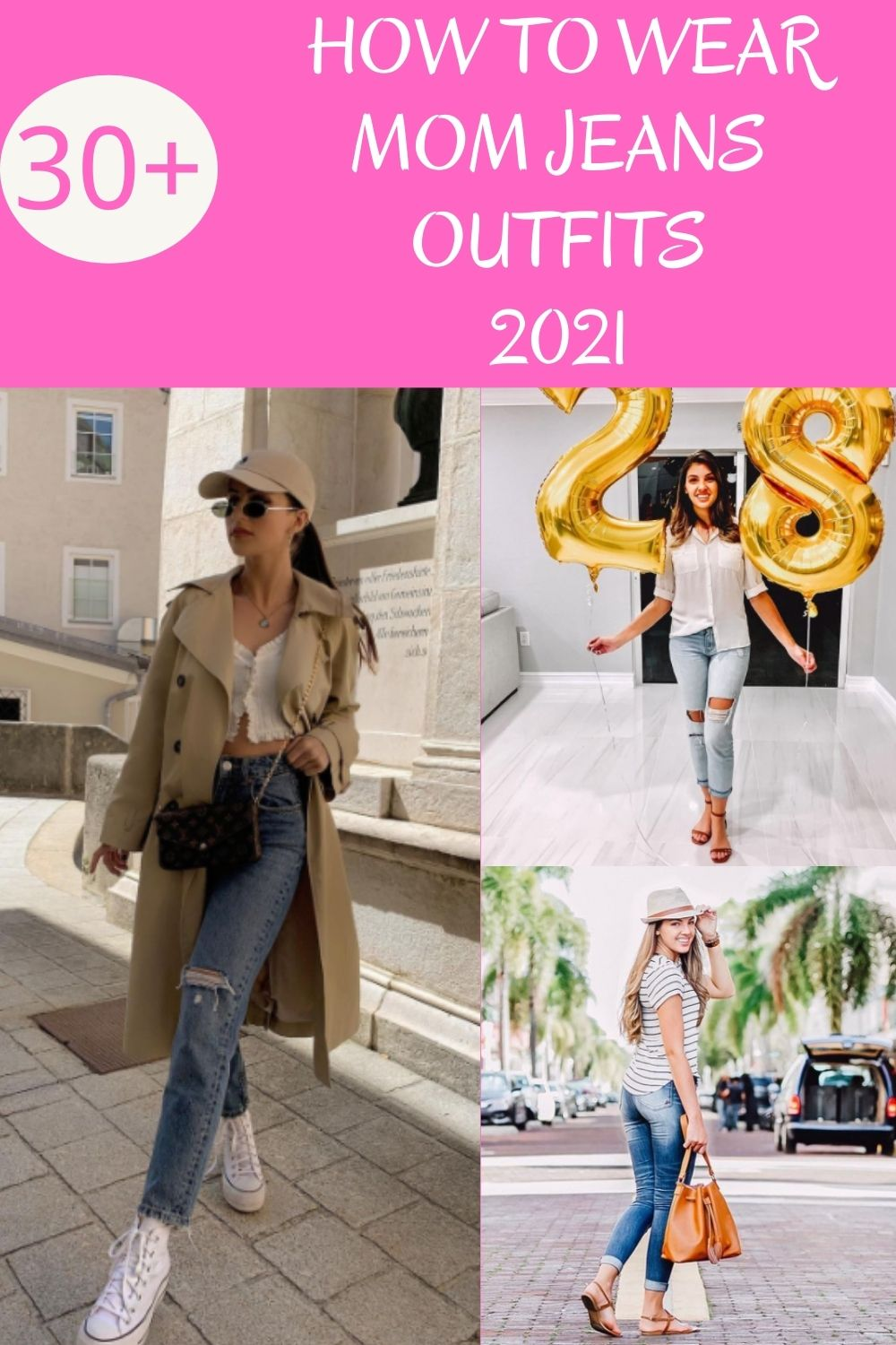 What Are Mom Jeans outfits?