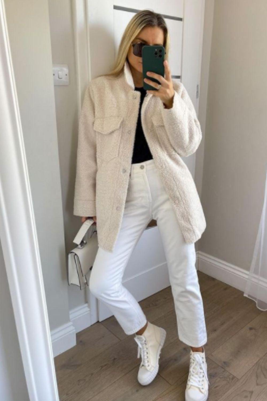 White  jeans for girls