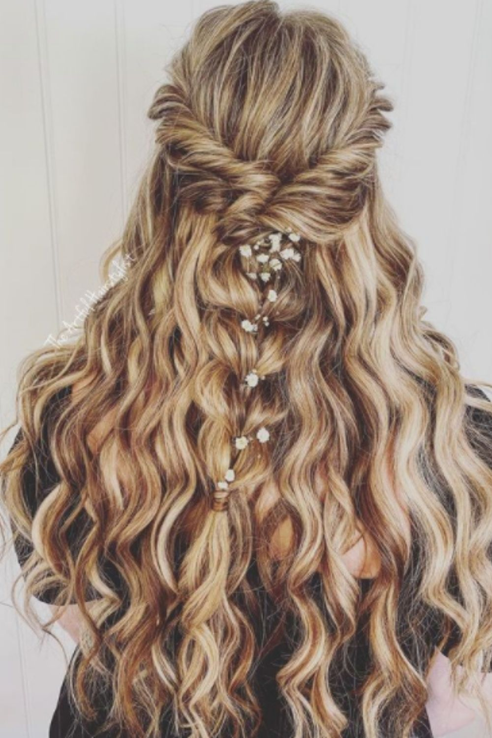 Retro Curls Long Hair For Homecoming Hairstyles For Girls!