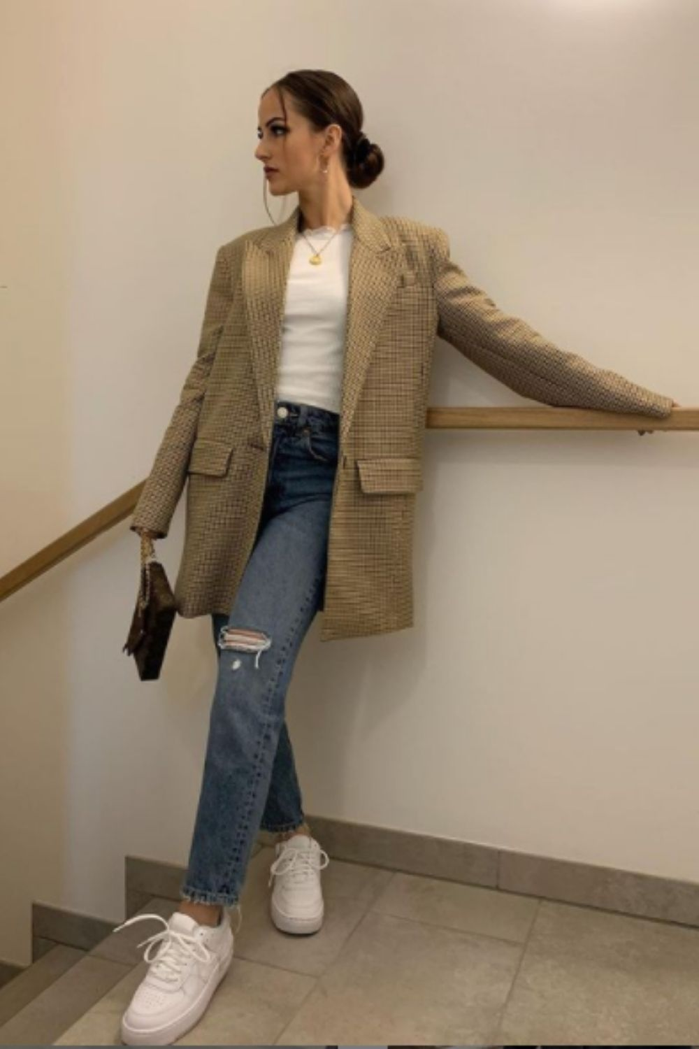 Coat To wear with mom jeans outfits